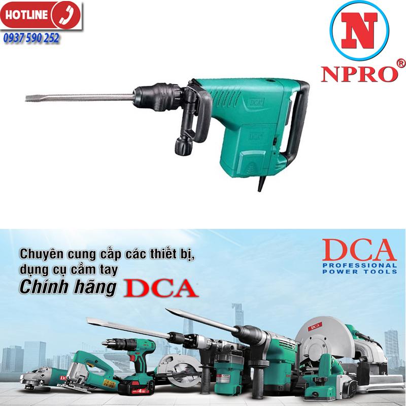 Máy đục bê tông DCA AZG10